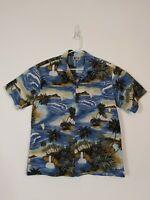 Aloha Republic Mens hawaiian shirt, large