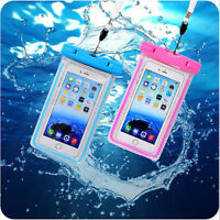NEW For Smartphone Waterproof Underwater Phone Pouch Bag Case Cover With Lanyard