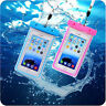 For Smartphone Waterproof Underwater Phone Pouch Bag Case Cover With Lanyard