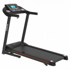 Smart Motorized Treadmill Manual Incline Air Spring & MP3, Exercise Running LCD