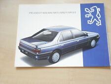 51731) Peugeot 605 SRV 3.0 Prospekt 1993