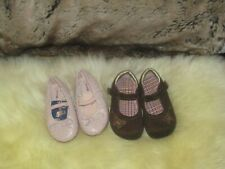 Set of 2 Toddler Girl Shoes sz 5 NWOT & USED!