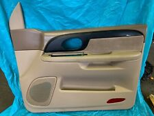 2002-2004 GMC ENVOY RH PASSENGER DOOR PANEL TAN/OAK