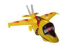 Jet Bump & Go Aeroplane Flashing Led Light Music Toy Aircraft Plane kids Toys 2+