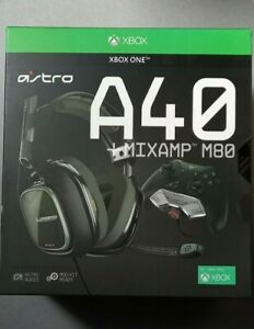 ASTRO A40 TR Gaming-Headset + MixAmp M80 Adapter 3. Gen PC Xbox One SeriesX NEU