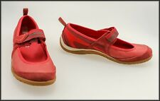 MERRELL WOMEN'S RED FLAT CASUAL COMFORT SHOES SIZE 6