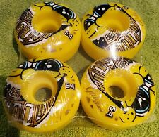 NOS Sector 9  Wheels 54mm GOLD  Yellow & Gold Wheels - From the 90s
