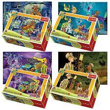 Trefl mini 4 x 54 pieces enfants garçons scooby doo et sammy jigsaw puzzle neuf