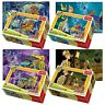 Trefl Mini 4 x 54 Pieces Kids Boys Scooby Doo & Shaggy Jigsaw Puzzle NEW