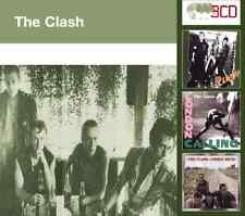 The Clash  -  The Clash/London Calling/Combat Rock - 3 CD  NEW & SEALED