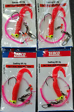 2 X Zebco Codling Whiting Lift Rig 1 Hook Double Rotation Boat Beach Rocks Sea