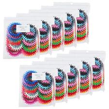 10000 Pcs/ 10 packs Orthodontic Elastic Rubber Flower Ligature Tie colorful