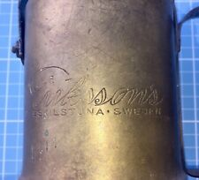 Vintage Eskilstuna Blowtorch Made In Sweden Three Crowns Original Swedish