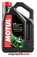Lubricante Aceite Moto 4 tiempos Semi Syn MOTUL 5100 4T 10W50, 4 litros