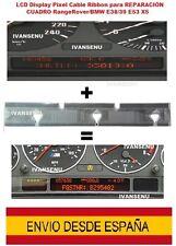 LCD display pixel cable ribbon REPARACIÓN CUADRO RangeRover Bmw E38/39 E53 X5