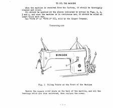 Singer 16u288 Walking Foot  Sewing Machine  INSTRUCTION MANUAL PDF