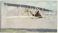 Wright Brothers Bi-Plane Airplane Invention Kitty Hawk Fight 1930s Ad Trade Card