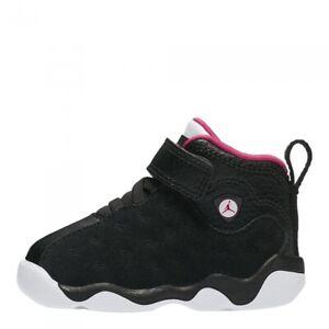 Jordan Jumpman Team II (TD) Toddler Black/Rush Pink-White AQ2795-006