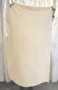 3-4 oz. Veg Tan Cowhide Leather Suede for Bags Journals Slings Purses Cases