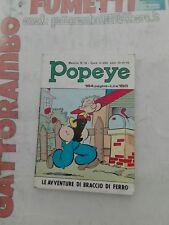 Popeye N.16 le avventure di Braccio di Ferro Anno 1971 - ed.bianconi  Edicola