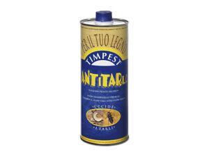 Timpest antitarlo per legno da 1 lt base solvente attivo contro tarli larve term