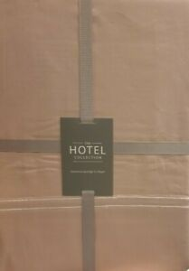Hotel Collection Duvet cover Set KING SIZE 400 Thread count Blush Pink