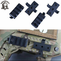 Tactical Wing-Loc Rail Adapter&Picatinny Rail Mount for FAST Helmet Airsoft Rack