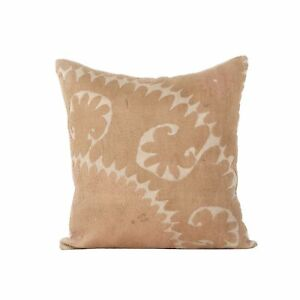 "18"" x 19"" Pillow Cover Suzani Pillow Cover Vintage FAST Shipment With UPS 07945"