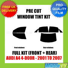 AUDI A4 4-DOOR 2001-2007 FULL PRE CUT WINDOW TINT KIT