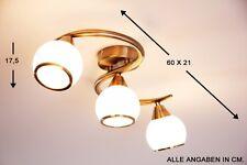 3 spots sur rail Plafonnier Lustre Lampe de couloir Lampe suspension Verre 41419