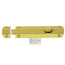 Carlisle Brass AQ82 15.2cm poliertes Messing Tür Oberfläche Bolzen Schiebe