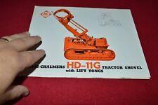 Allis Chalmers HD-11G Crawler Tractor Loader Dealers Brochure YABE14 ver11