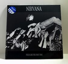 NIRVANA Feels Like The First Time BLUE COLOR VINYL 2xLP Sealed