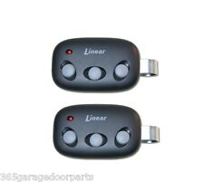 2PACK MCT-3 Linear Megacode 3-Button Garage Door Remote DNT00089 LD033 LD050