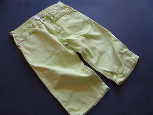 DIESEL Super geniale Bermuda Jeans zitrusgelb/grün? Gr.10/140