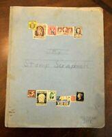 CatalinaStamps: Homemade Stamp Scrapbook From 1958, Lot C2