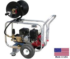 New listing Drain Cleaner Jetter Commercial - 4 Gpm - 4000 Psi - 13 Hp Honda - Gp Pump