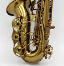 Eastern music Germany style cognac curved soprano saxophone with engraving