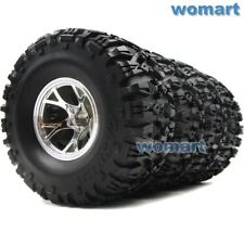 4pcs RC 2.2 Truck Crawler Tires & Wheels For RC4WD Axial & TAMIYA Monster Beetle