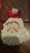 Lenox Santa Claus Cookie Press New in Package 6 inches long and 5 inches wide.
