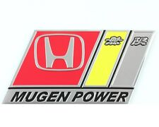 Mugen Power Badge emblema in metallo NUOVO di zecca s2000 Civic Tipo R S Integra