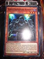 YU-GI-OH! SUPER RARE SINGETROOPERS KOZMO BOSH-FR083 MINT NEUF FRANCAIS EDITION 1
