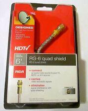 Audiovox  DH6QCR RCA Digital Quad RG6 COAX, 6-Feet