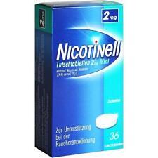 NICOTINELL Lutschtabletten 2 mg Mint 36 St PZN 7006448