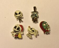 Nightmare Before Christmas 5 Floating Charm Necklace Jack Sally Mayor