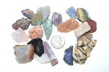 Rock Tumbling 3lb 19 Stone Guarantee From Madagascar  with Free Color I.D. Guide