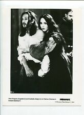 Queen Margot-Jean-Hugues Anglade and Isabelle Adjani-8x10-B&W-Still