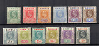 Gambia 1904-06 set to 2s MLH/MH