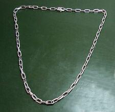 Erstklassige CARTIER 750er WEIßGOLDKETTE Anker • 46 cm • 34,05 g Goldkette