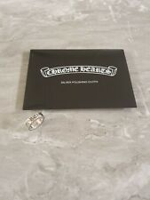 Chrome Hearts Amazing Forever Ring 925 Sterling Silver US Size 8.5